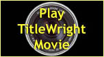 TitleWtight offers quality titling at affordable prices and quick turnarounds. Watch our movie today!